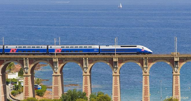 Das französische TGV-Streckennetz