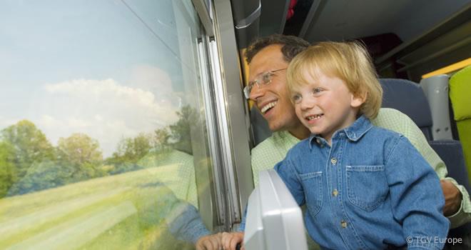 Reisen im TGV