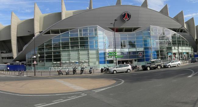 Parc des Princes Stadion in Paris