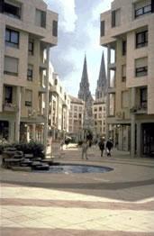 Die Stadt Châteauroux in der Region Centre im Zentrum Frankreichs ist Hauptstadt des Départements Indre