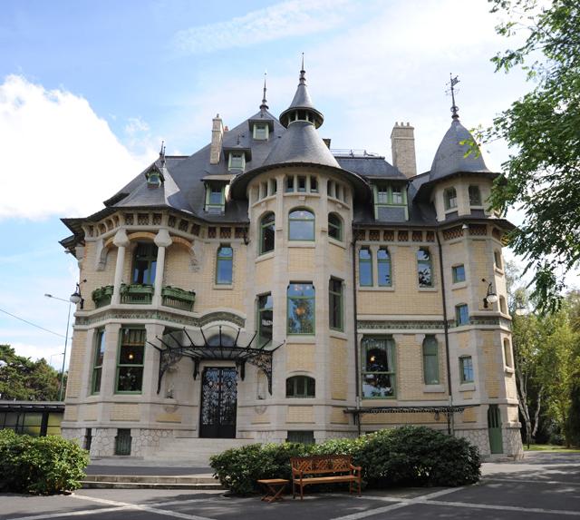 Von l'Art-Déco wurde la Villa Demoiselle frisch renoviert und ist heute ein Vorzeigestücken der Architektur in Reims