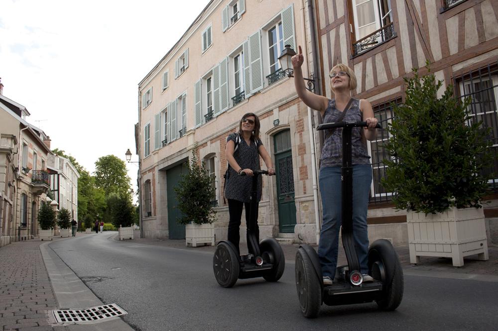 Segway-Ausflug in die Altstadt von Châlons in der Champagne