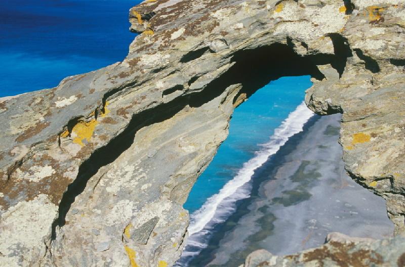 Cap Corse: Tafonu in der Nähe des Tour de Nonza. HAUTE CORSE (2B)