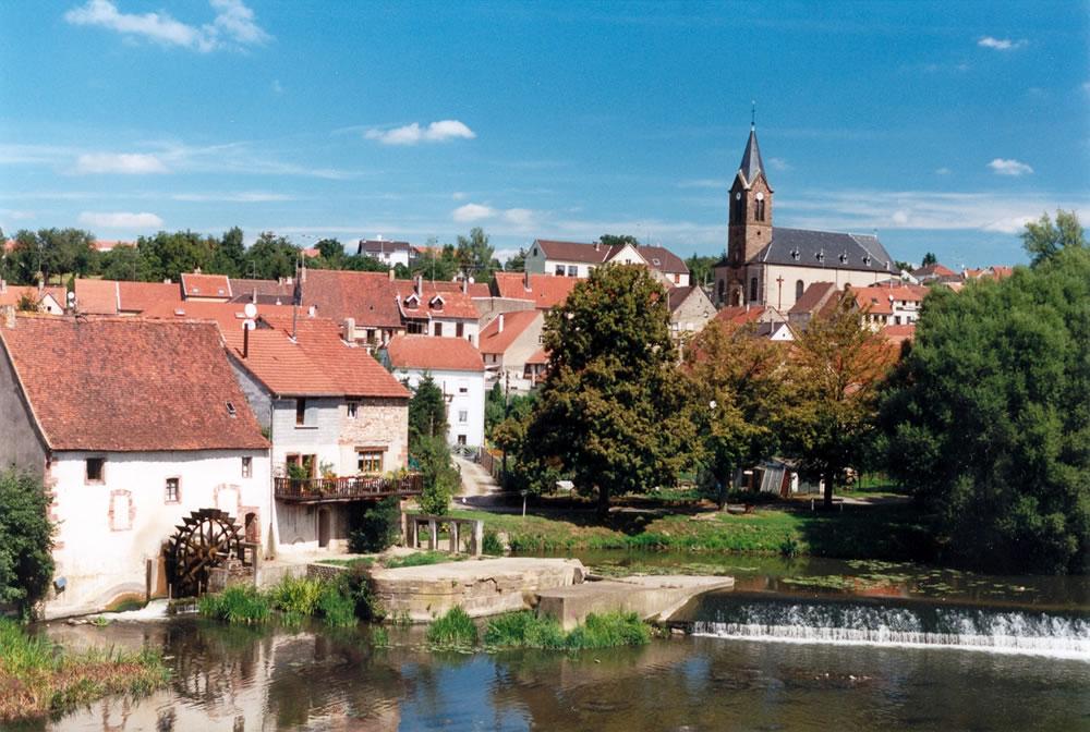 Sarreinsming ist eine eine kleine Gemeinde in der Region Lothringen