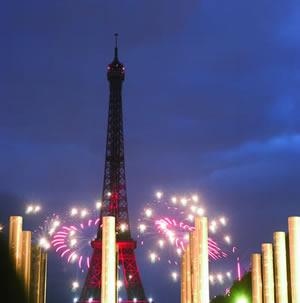 Der 14. Juli ist Nationalfeiertag in Frankreich. Der Nationalfeiertag wird mit Militärparaden, Festen und Feuerwerk in ganz Frankreich gefeiert.