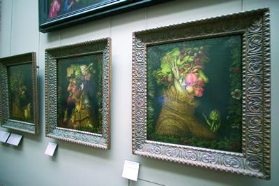 Das Museum Louvre in Paris besitzt eine große Sammlung und Auswahl an Kunstschätzen früherer Zeitepochen.
