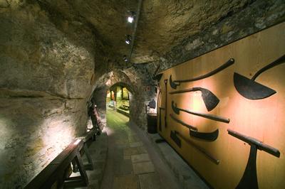 Das Weinmuseum in Paris, das Musée de Vin liegt in der Nähe des Eiffelturms im Zentrum von Paris. Eine Ausstellung über Wein in Frankreich