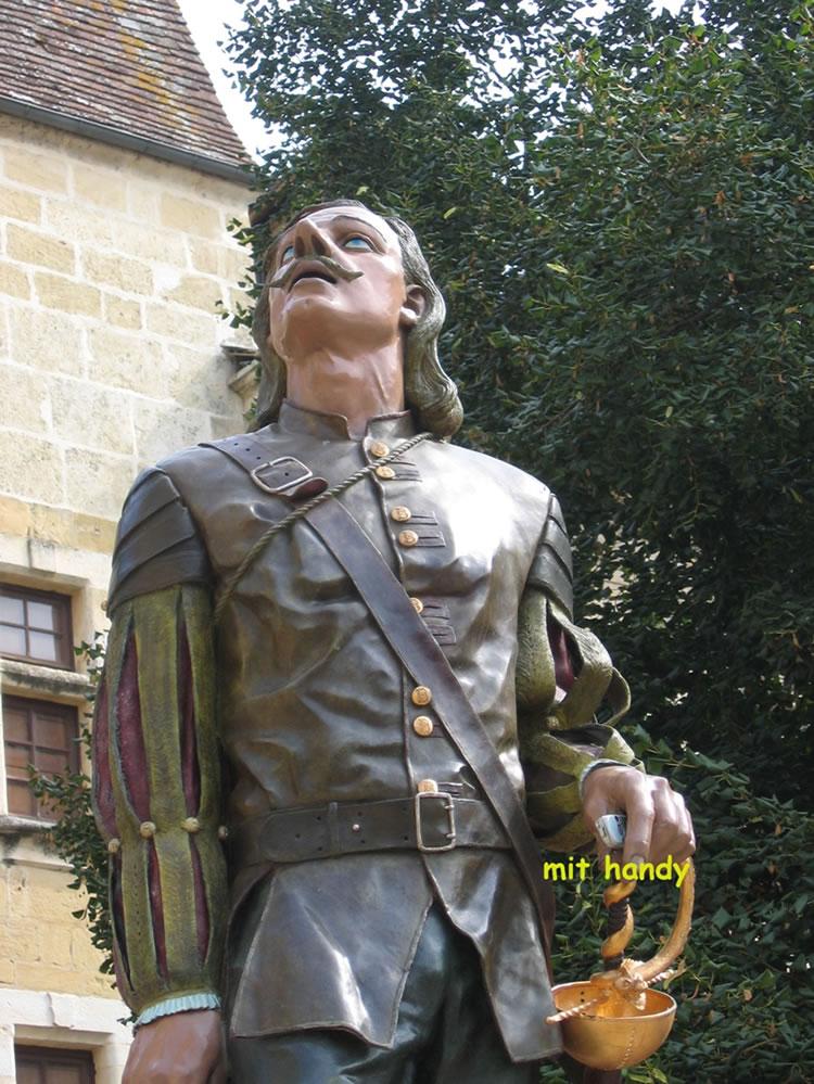 Der französische Schriftsteller Cyrano de Bergerac war ein Vorläufer der Aufklärung und schrieb mehrere bekannte Romane