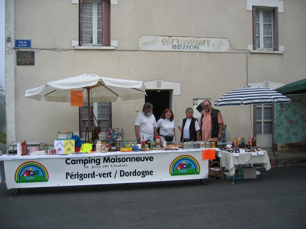 Fete d'ecrevisse in St.Jory de chalais im grünen Perigord, Dordogne.