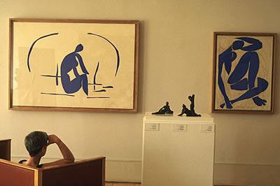 Das Musée Matisse in Nizza. In Ruhe kann man sich hier die Bilder vom französischen Maler Henri Matisse im Kunstmuseum ansehen