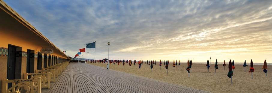 Der Strand von Deauville