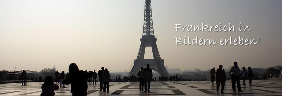 Aussicht auf den Eiffelturm in Paris