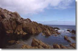 Felsenküste in der Bretagne