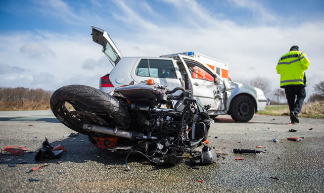 Autounfall Frankreich