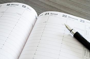 Kalender der Feiertage Frankreich