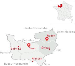 Region haute normandie frankreich for Haute normandie basse normandie