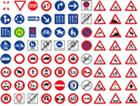 Verkehrsschilder Übersicht