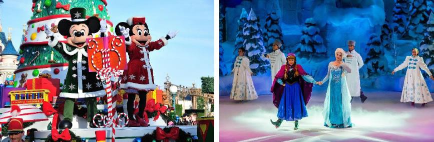 Disneyland im Winter