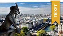 Sightseeing für einen Tag in Paris