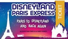 Disneyland Paris Express-Tickets mit Shuttle Transport