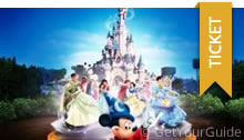 Ganztagesticket inklusive Transport zum Disneyland Paris