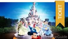 Ganztagesticket inklusive Transport zum Disneyland Paris