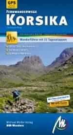 Reiseführer Wandern Korsika Fernwanderwege