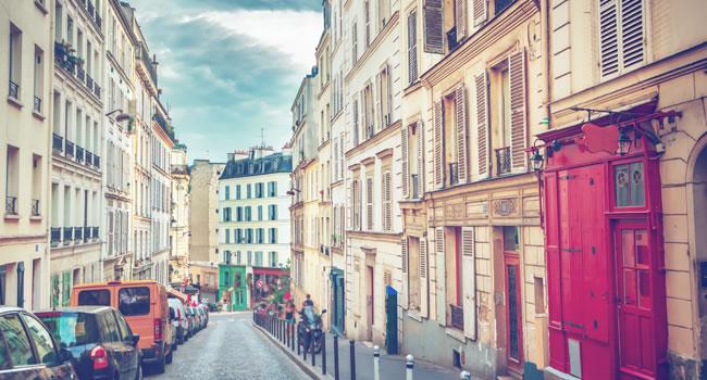 Sehenswürdigkeiten in Frankreich, der Montmartre in Paris