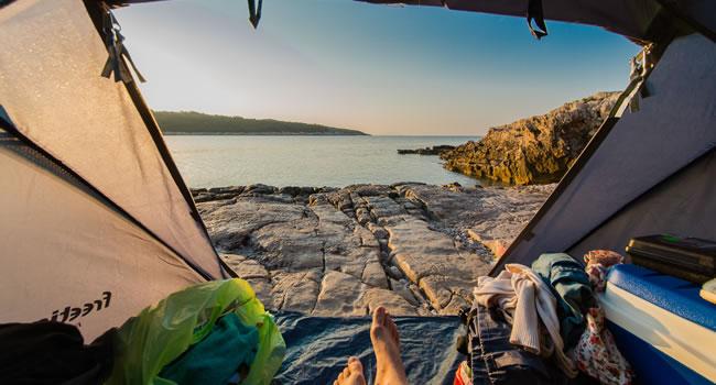 Camping an der Côte d'Azur