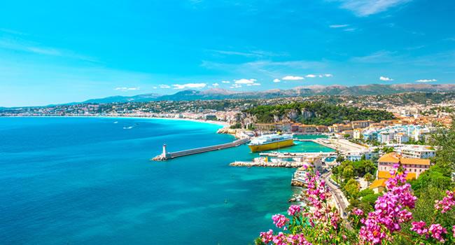 Nizza Urlaub an der Côte d'Azur