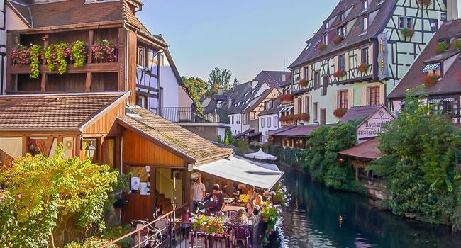 Historischen Altstadt von Kaysersberg