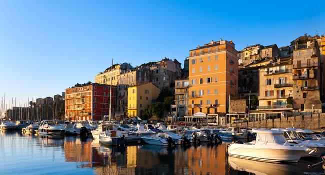 Bastia auf Korsika