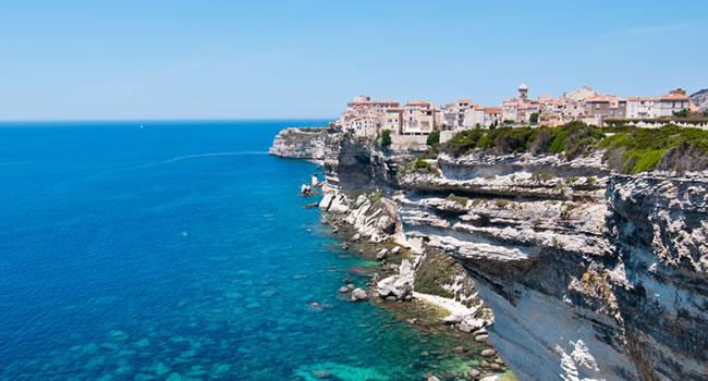 Urlaub auf Korsika, die Hafenstadt Bonifacio