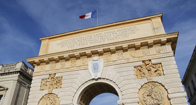 Triumphbogen in Montpellier