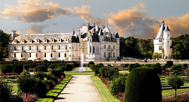 Das Schloss Chenonceau