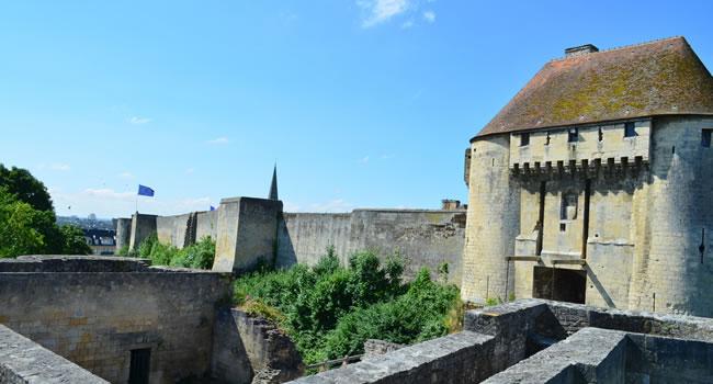 Le château Ducal in Caen