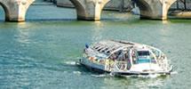 Bootsfahrt in Paris auf der Seine