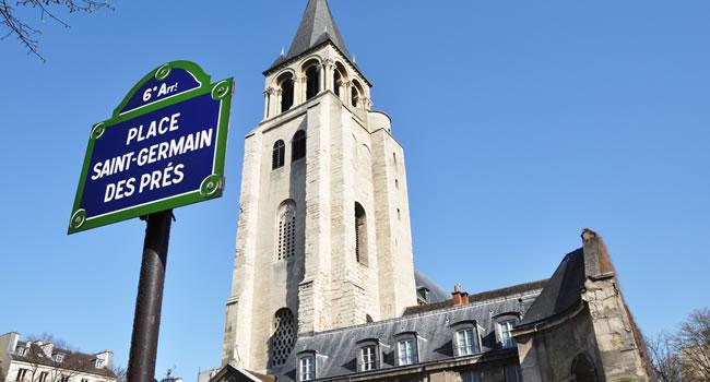 Die Kirche Saint-Germain-des-Prés