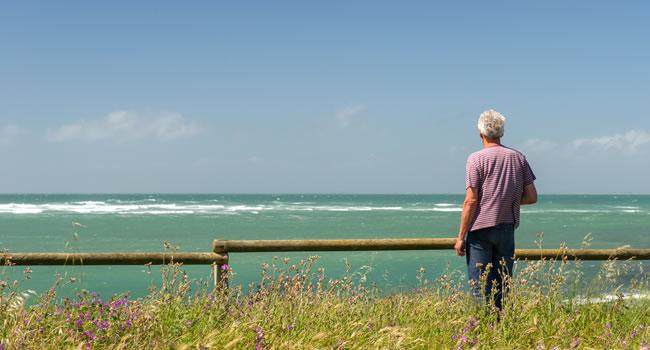 Die Atlantikküste bei Poitou-Charentes