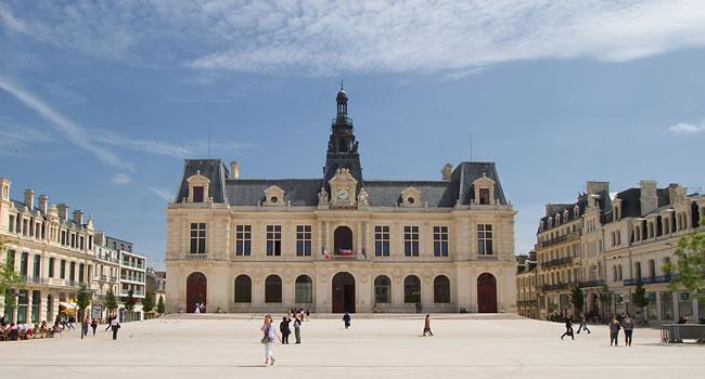 Die Stadt Poitiers in Poitou-Charentes