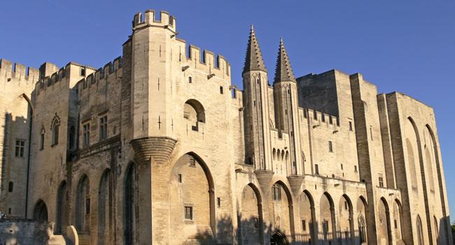 Die Stadt Avignon