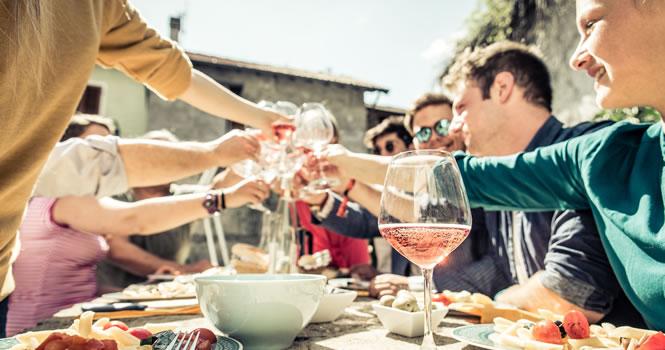 Gemeinsam die französische Küche genießen