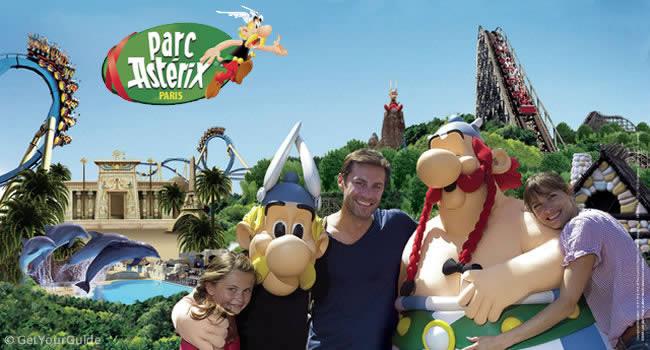 Asterix Park bei Paris