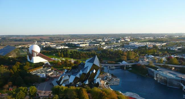 Freizeitpark Futuroscope in Poitiers