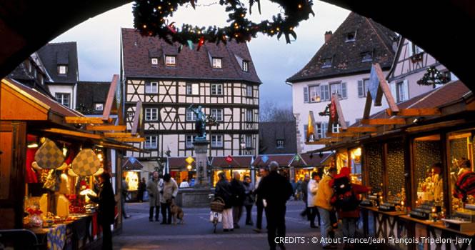Weihnachtsmärkte in Frankreich