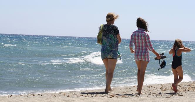 Strandspaziergang auf Korsika