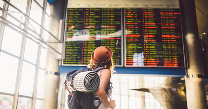 Flug Verspätungen im Frankreich Urlaub