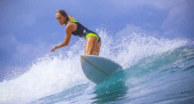 Die französische Atlantikküste bietet zahlreiche Möglichkeiten zum Surfen