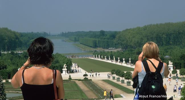 Fahrradtour durch Versailles